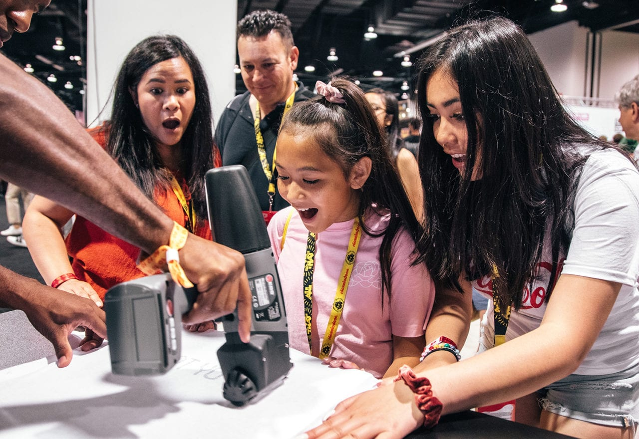 NBCUniversal's 'Share Your Voice' Activations Inspire VidCon Attendees to Speak up