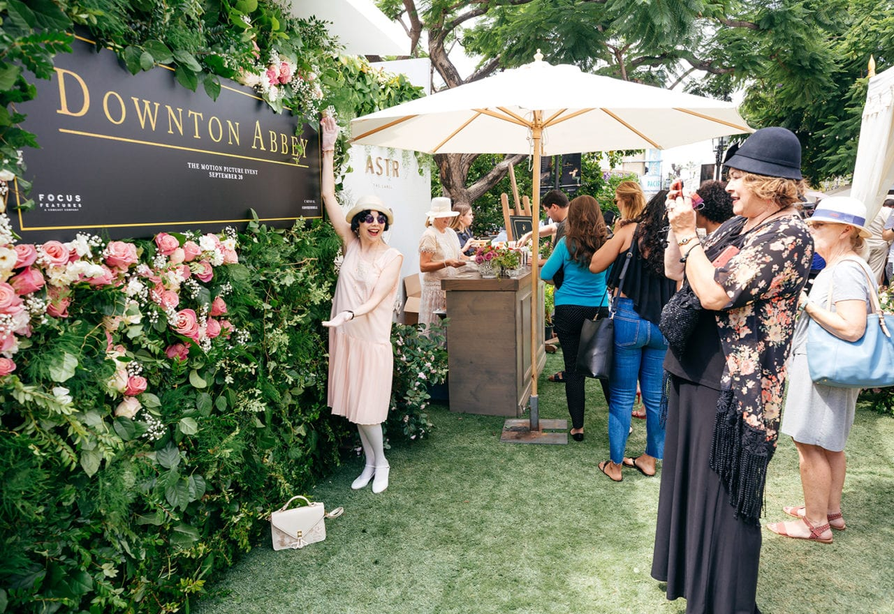 A 'Downton Abbey' Grand High Tea Experience Pops up at The Grove