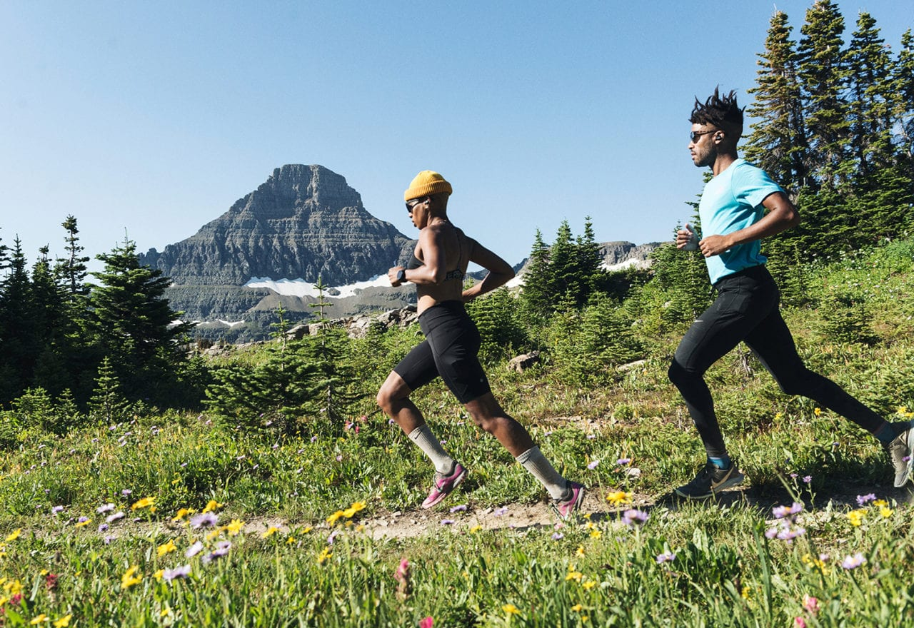 Jaybird Designs Glamping Experience in Glacier National Park for Fitness Influencers