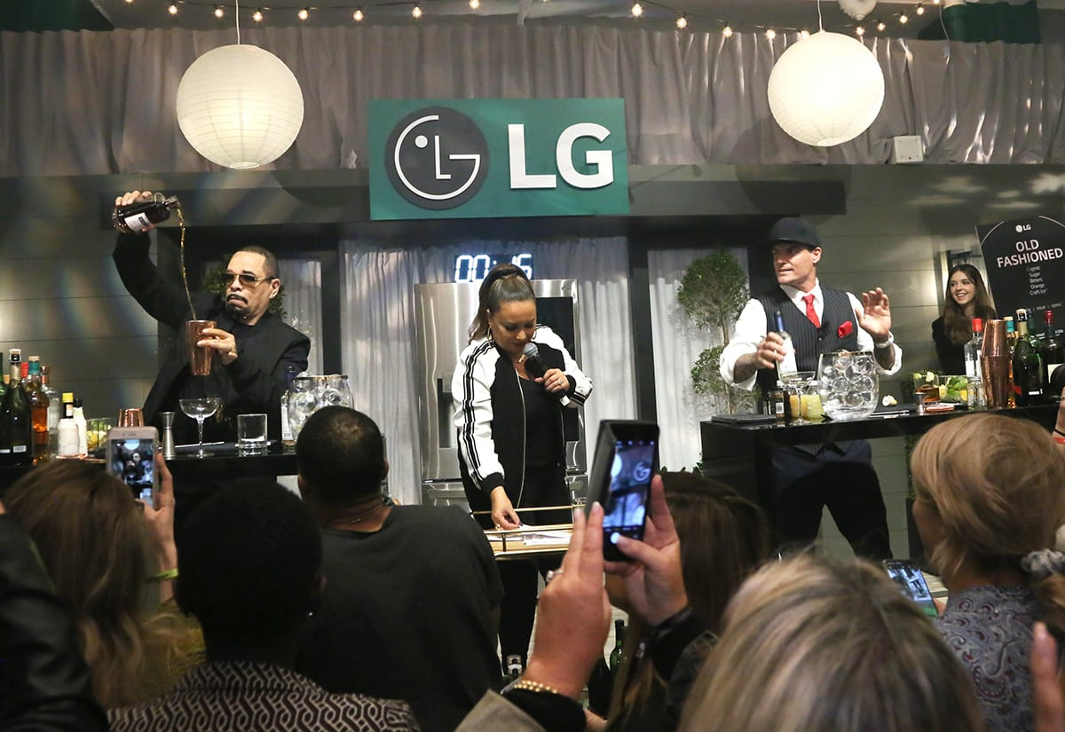 LG Demonstrates How 'Ballers' Entertain with its Craft Ice House Pop-up