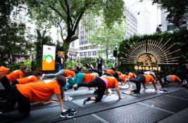 Origins Fitness Challenge Aims to Donate 72,000 Trees
