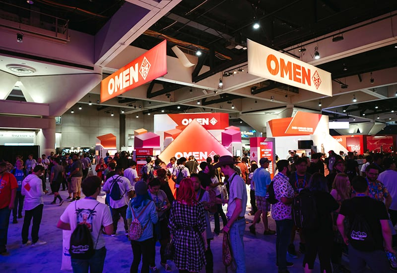 The Omen Gaming Lab Draws Casual Gamers at TwitchCon