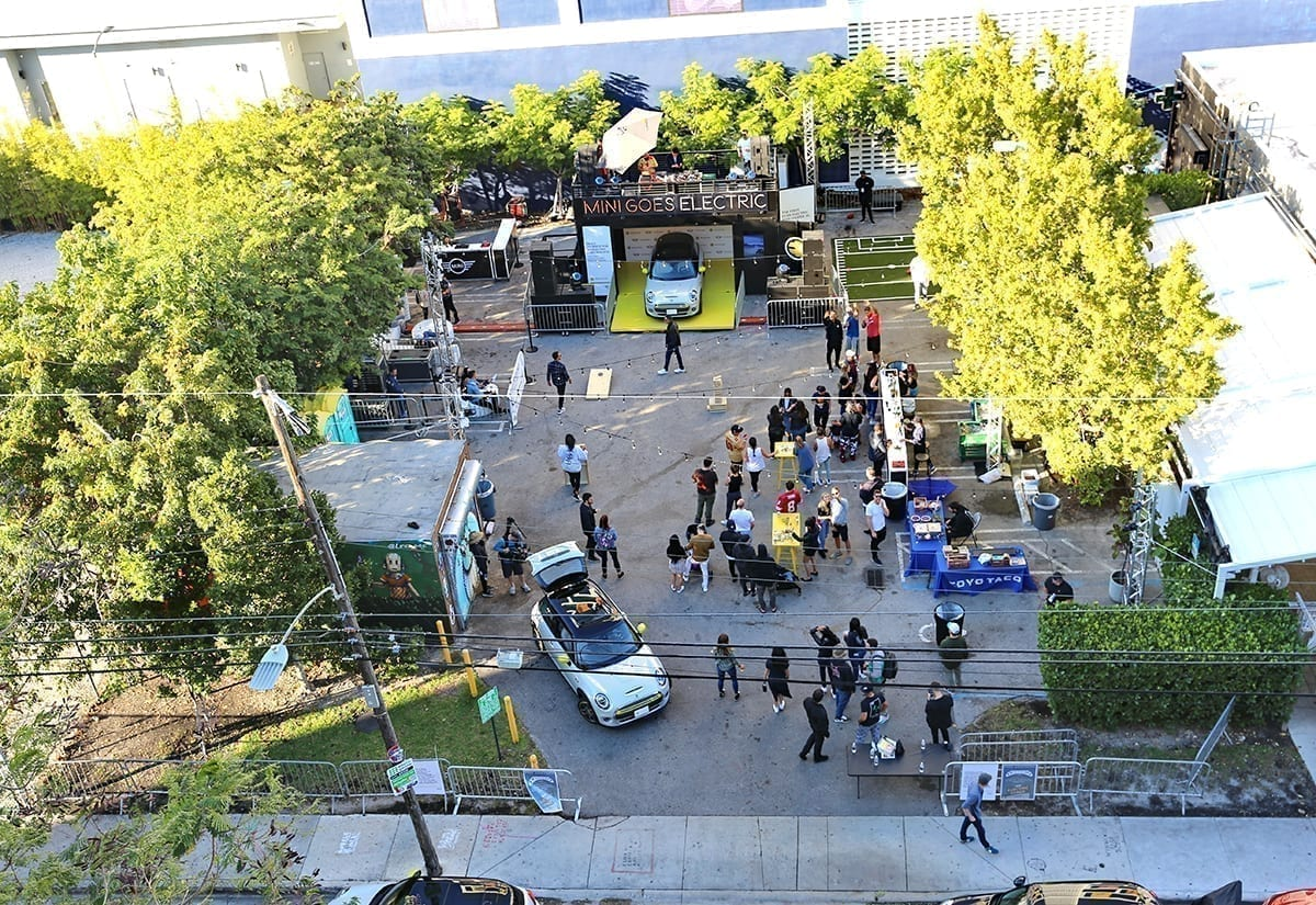Launch Events: MINI Goes Electric in Miami