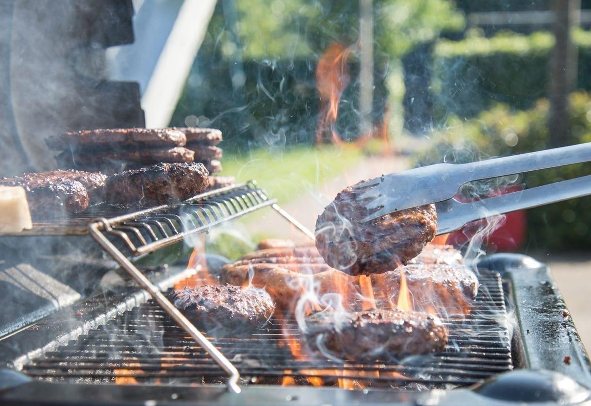 istock burger grill