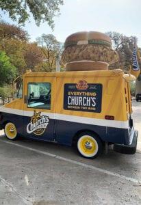 Church's Chicken Truck 2020