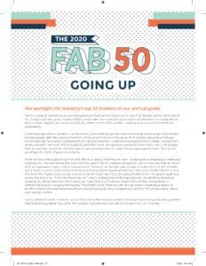 Fab 50 2020 intro