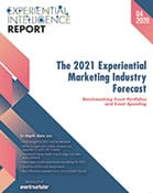 The 2021 Experiential Marketing Industry Forecast Cover