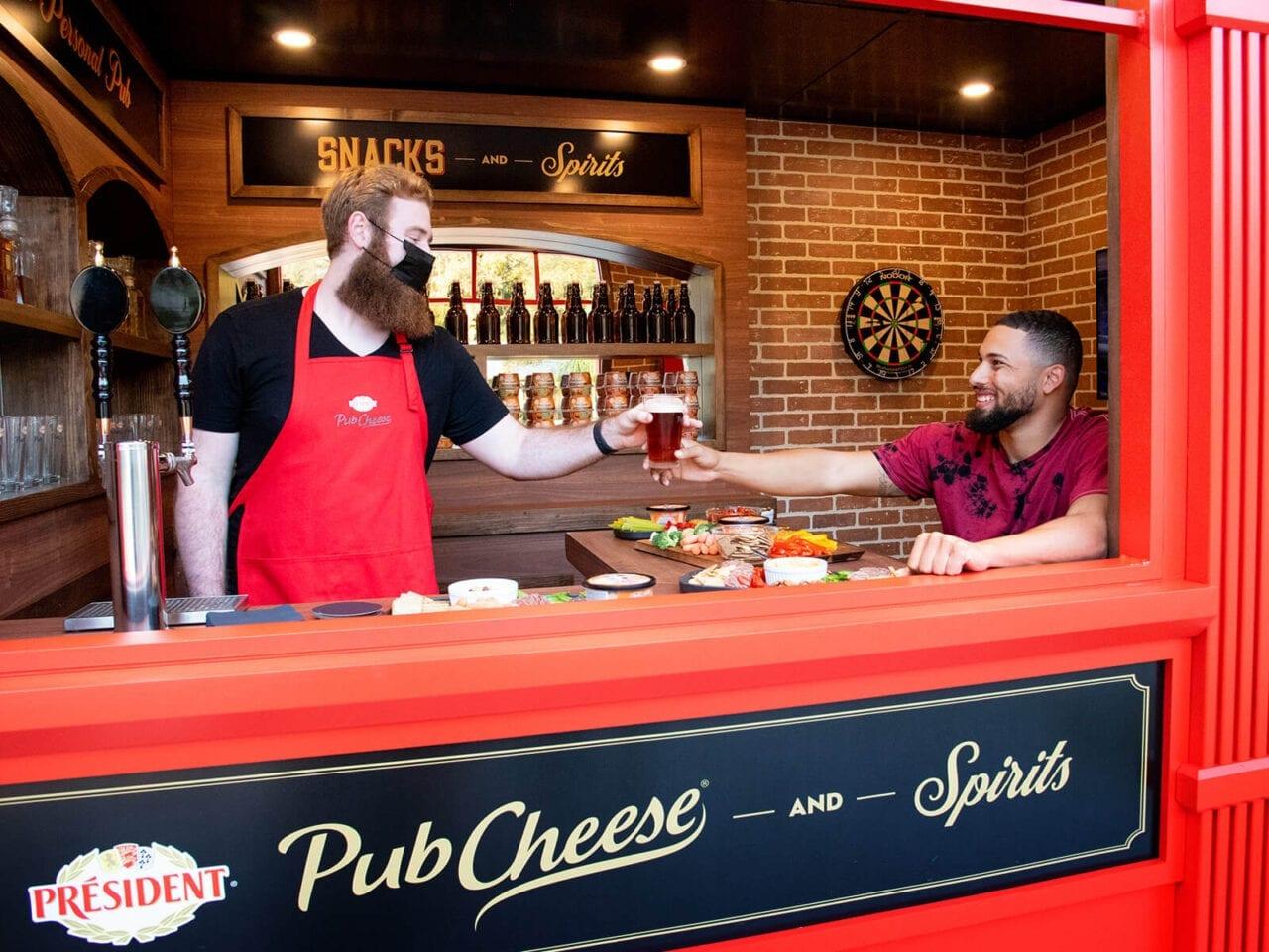 Sampling Strategies: President Pub Cheese tiny pub