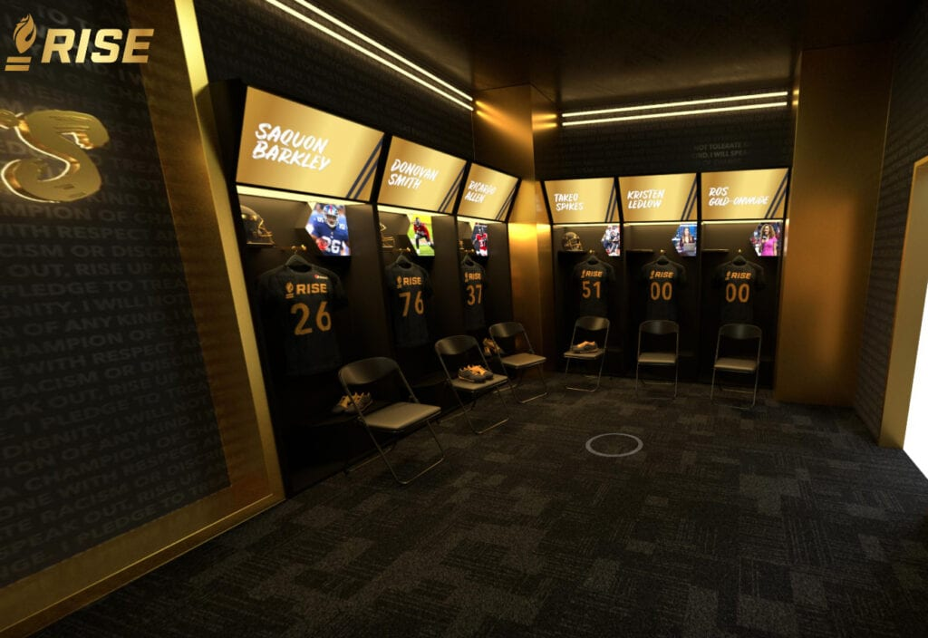 RISE Virtual Experience Super Bowl