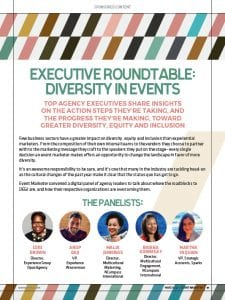 2021 Executive Roundtable: Diversity in Events