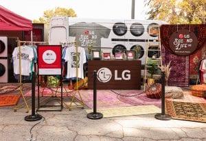 LG Second Life Tour 2021_Event Footprint