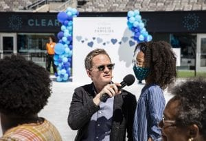 Clear Day of Families 2021_10 Neil Patrick Harris talks to kid