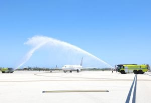 Clear Day of Families 2021_5_airplane water cannon salute