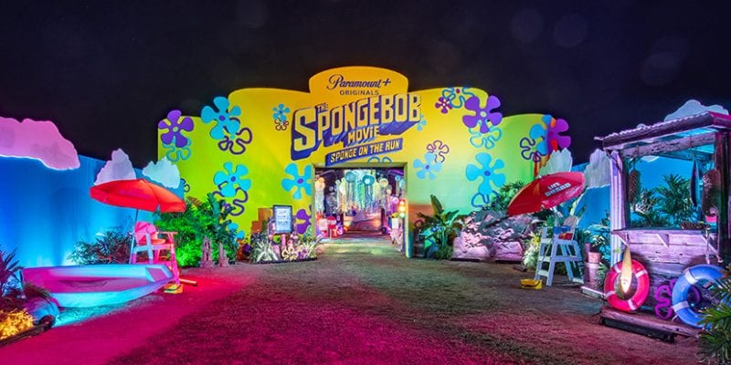 Drive-thrus for Kids: Paramount Plus Takes SpongeBob Fans 'Under the Sea'