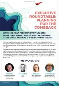 Executive Roundtable: Planning for the Comeback