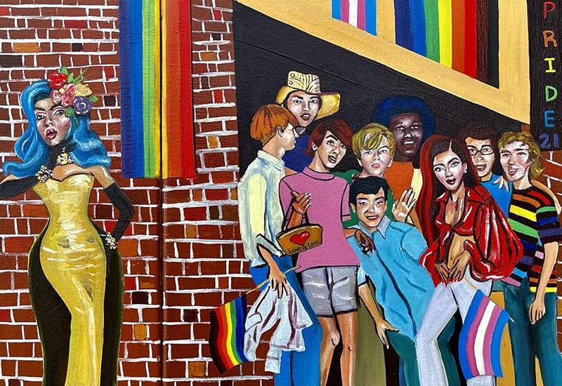 Skittles Pride 2021_brick mural