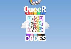 Skittles Pride LGBTQ+ community_rainbow QR code