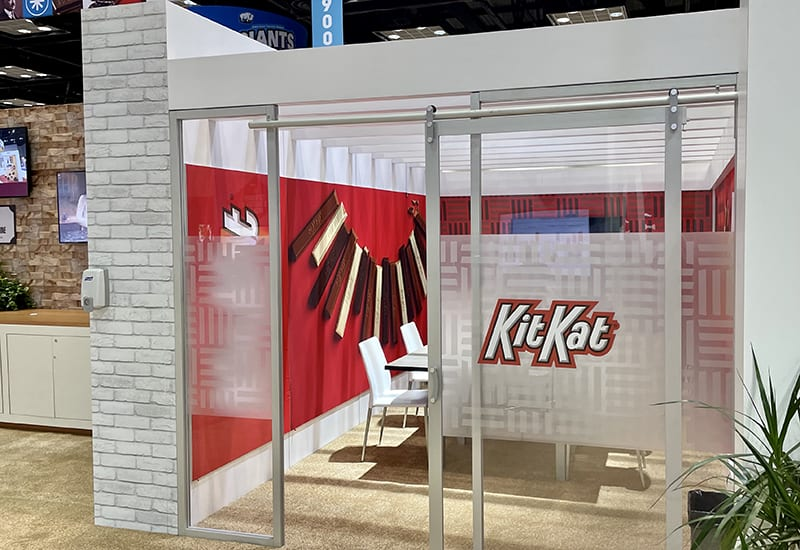 sweets and snacks 2021 Hershey booth 4