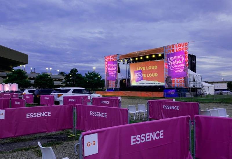 Essence Fest 2021_drive in_colinmiller-