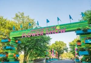 Philadelphia Flower Show 2021_Entrance