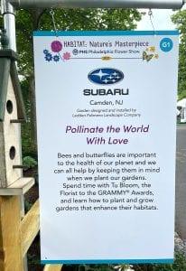 philadelphia flower show 2021 subaru_ activating outdoors