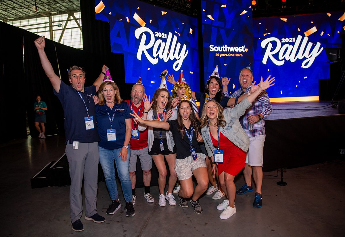 southwest-airlines-2021-employee-rally employee photo