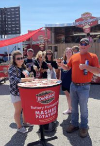 Idahoan Foods Takes Aim at Consumers' Plates with the Mashed in America Tour