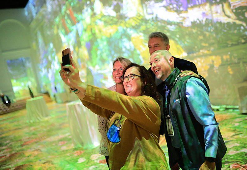 EMS 2021_Van Gogh selfie